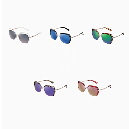 lunettes Élégantes Blue polarisées lady de soleil BaWSnPvqa