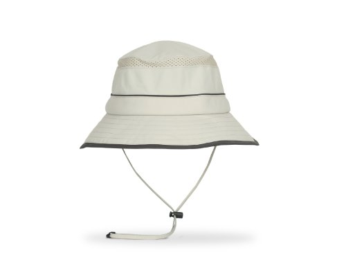 Sunday Afternoons Solar Bucket Hat, Cream, Medium