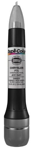 Dupli-Color ACC0401 Champagne Pearl Chrysler Exact-Match Scratch Fix All-in-1 Touch-Up Paint - 0.5 oz.