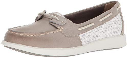 Grey 5 5 Women's Oasis Sperry Shoe Boat Us Medium Loft Weave wXHw80qp