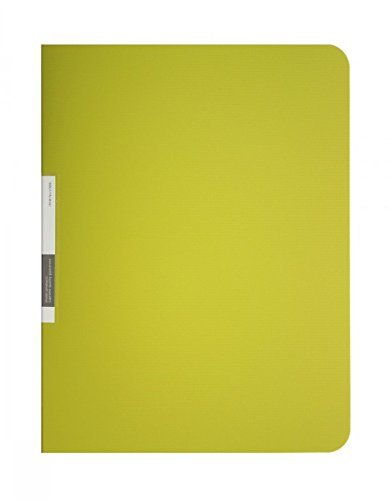 SHUTER A4 Size 30 Pockets Paper File Display Book Folder for Report Sheets,Artworks,Music Sheets,Clippings (30 pockets Grass Green)