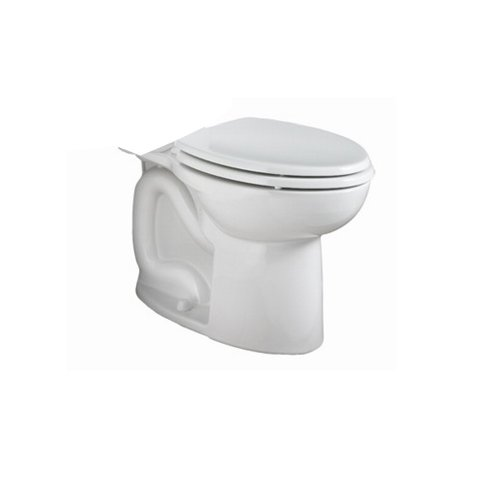 American Standard 3073.216.020 FloWise Dual Flush Right Height Elongated High Efficiency Toilet Bowl with Bolt Caps, White