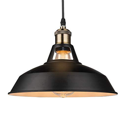 Black Pendant Light Shade in US - 7