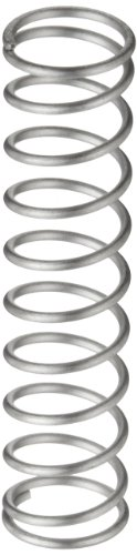 - Compression Spring, 302 Stainless Steel, Inch, 0.72
