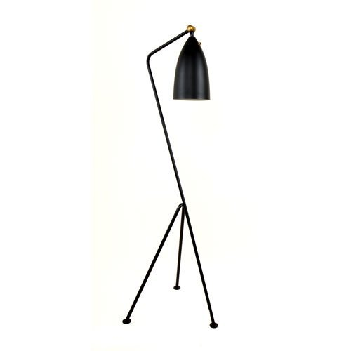 Control Brand Grasshopper Floor Lamp, Black