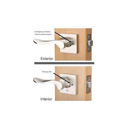 Emtek EMPPU4 Privacy Pin Satin Brass