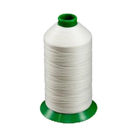 American & Efird AandE Outdoor Thread, Tex 70, White - 6000 Yard Spool by American & Efird