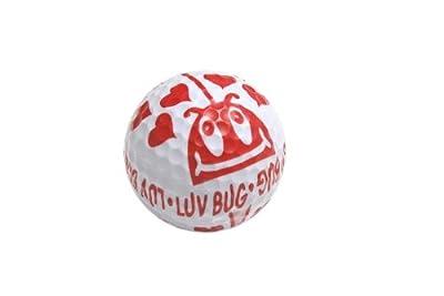 BZANY Luv Bug Ladybug Golf Balls, Pack of 12