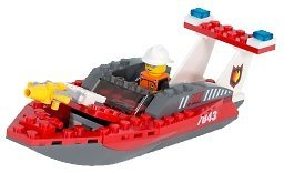 Lego Fireboat World City Firefighter 7043 by (Fireboat Games)