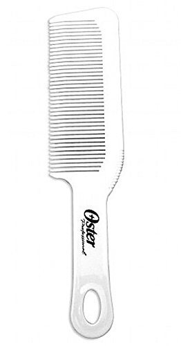 Oster Barber Comb Antistatic Static-free Sterilizer compatible Chemical-resistant White ()