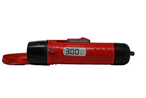 Marine Depth Gauge - HAWKEYE DT1H Handheld Depth Finder with Temperature