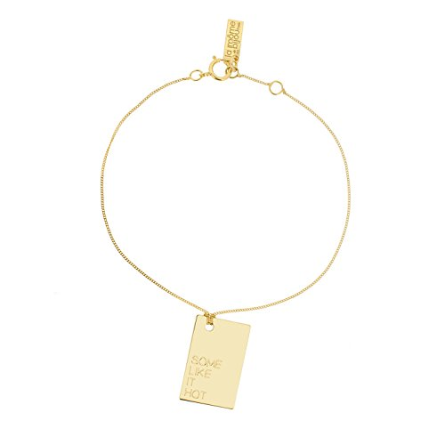 La Môme Bijou Bracelet Vermeil Some Like It Hot Charme de 15-16 cm