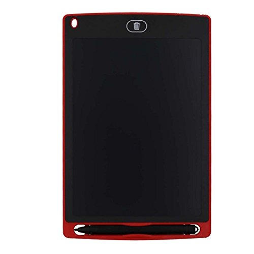 Kids Boogie Board Desk (Tiean 8.5Inch LCD Writing Tablet Pad Office Memo Home Message Kids Drawing Board (Red))