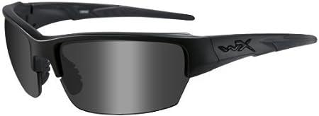 Wiley X - Gafas Protectoras Saint en Juego con 2 Cristales, Color Negro Mate, S/M, CHSAI07