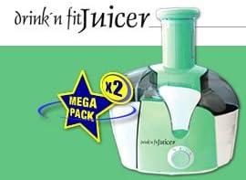 Drink n Fit Juicer Entsafter 2er Set: : Küche