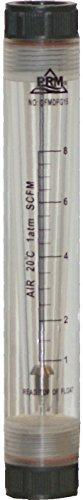 PRM 1-8 SCFM Rotameter Air Flow Meter, 1/2 Inch