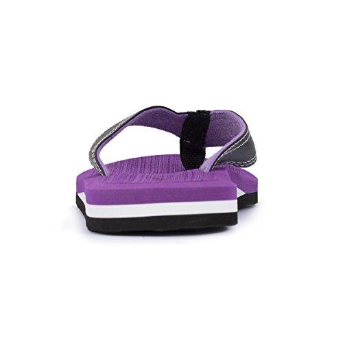 Tongs femme violettes Isotoner Morado