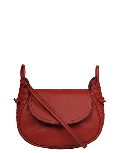 Bottega Veneta Women's 536228Vauq16443 Burgundy Leather Shoulder Bag