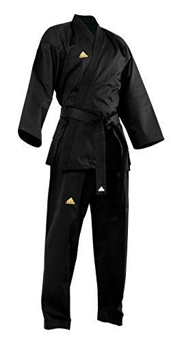 Adidas All Black Open Martial Arts Uniform (3)