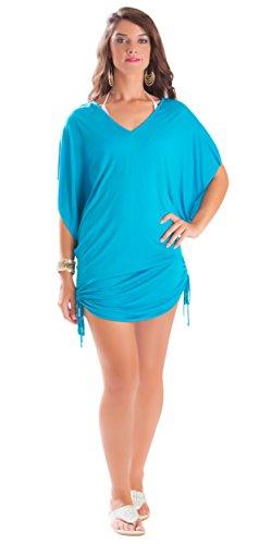 La Fleva - Vestido - para mujer turquesa