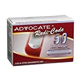 Advocate Redi-Code Blood Glucose Test Strips, 50 Count