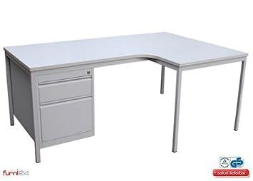 Ángulo de escritorio, - Mesa de escritorio en esquina ...
