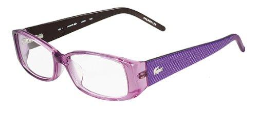 d8bac09512f0 LACOSTE L2640 Eyeglasses 539 Light Orchid Demo Lens 52-16-135   Amazon.co.uk  Clothing