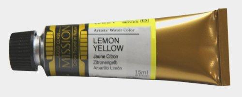 Mijello Mission Gold Class Water Color, 15ml, Lemon Yellow