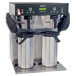 Bunn 37600.0002 19 gal/hr Coffee Brewer - Model ICB-Twin Infusion Series (120/208V)