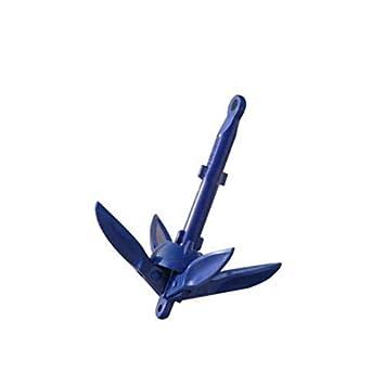 SDGDFXCHN Ancre Pliante Trousse dancre en Aluminium Pliable pour canot-Kayak en Petit Bateau