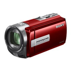 Sony dcr-sx65 Handycamビデオカメラ(レッド) B004JM43W6