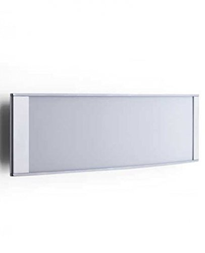 Strip wall/ceiling light D22/2 EL - 110 - 125V (for use in the U.S., Canada etc.), polished aluminum ()