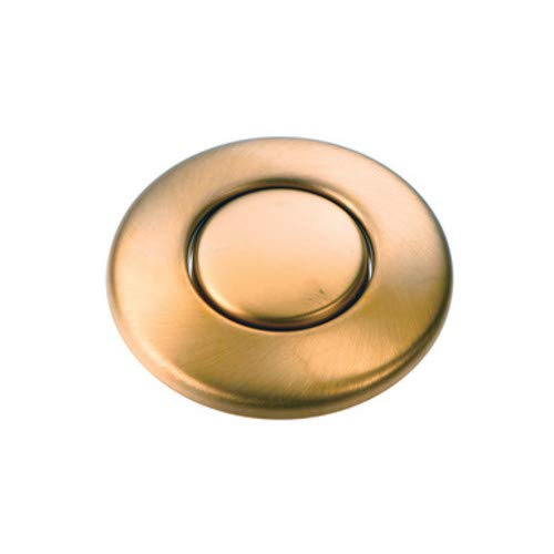 InSinkErator 73274 Sinktop Switch Button for Disposals, Brushed Bronze