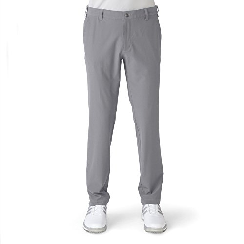 adidas Golf Men's Adi Ultimate 365 Tapered Fit Pants, Mid Grey, Size 36/34