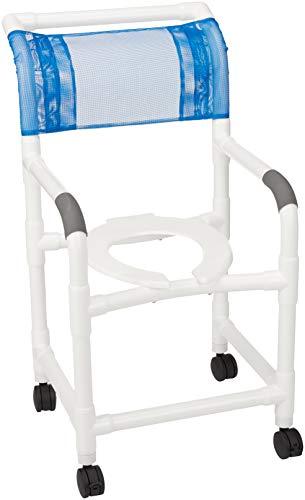 MJM Standard PVC Shower/Commode Chair