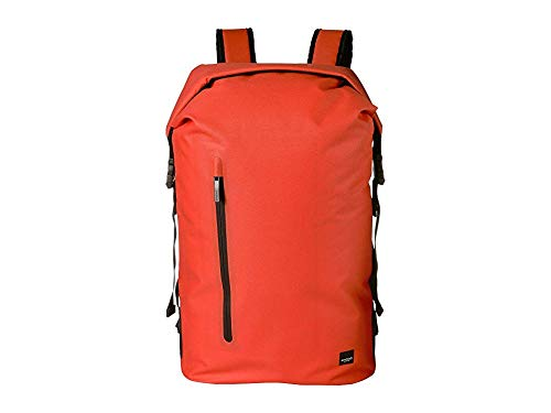 KNOMO London Unisex Thames Cromwell Top Zip Backpack Flash Orange One Size ()
