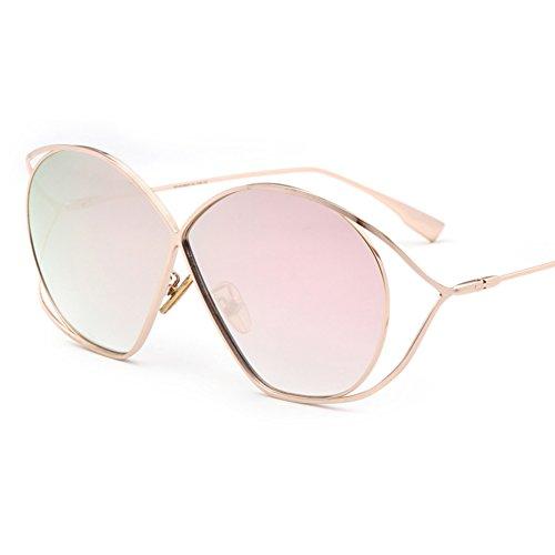 Accesorios Niña Rosegold Hueco Forma De De De amp;HA Gafas De De Regalo Rosegold Diseñador En Mujer Gafas Señora Gafas Z Marco Sol Mariposa Ra1wxpq