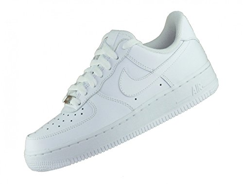 Scarpe '07 Donna Air da Blanc Wmns Basketball 1 Nike Force HqxfZwFF