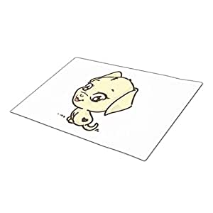 Asyouw Dog Drawing Indoor Door Mats Blank One size Entrance Floor Mats