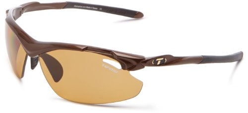 Tifosi Tyrant 2.0 1120601360 Polarized Dual Lens Sunglasses,Mocha,68 mm