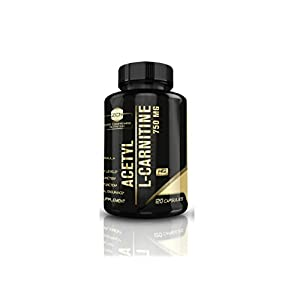 Acetyl L Carnitine + Vitamin C (750 mg) By Zero Compromise Nutrition ✪ Powerful Antioxidant Energy Pills ✪ Pre Workout Energy ✪ Memory Boost ✪ Risk Free Guarantee ✪ Acetyl L Carnitine HCl