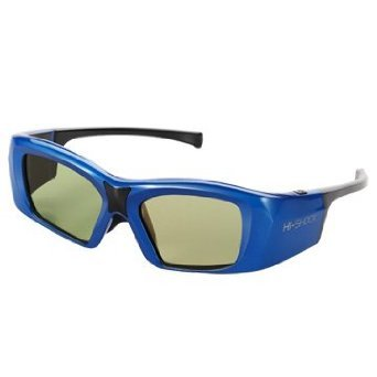 Hi-Shock Universal Infrared Active Shutter 3D Glasses for 3D TVs-Panasonic Toshiba Sony Panasonic Sharp Samsung LG