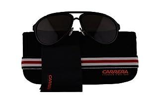 Carrera Authentic Sunglasses CA 96/S Black w/Dark Grey Lens GVBNR CA96/S (58mm)