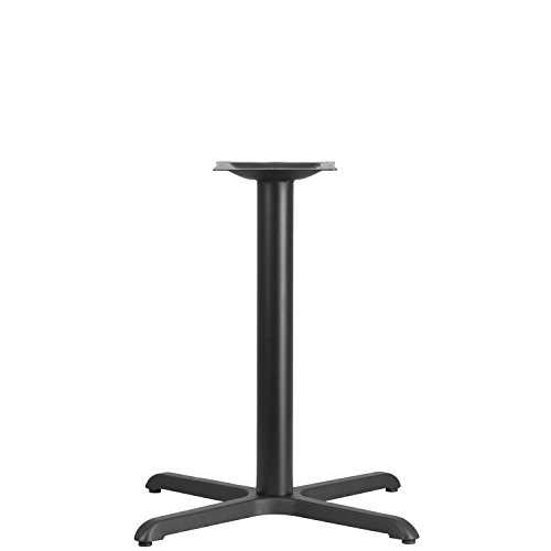 3' Base - Flash Furniture 30'' x 30'' Restaurant Table X-Base with 3'' Dia. Table Height Column