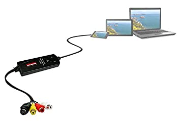 Diamond Vc500 Usb 2.0 One Touch Vhs To Dvd Video Capture Device With Easy To Use Software, Convert, Edit & Save To Digital Files For Win7, Win8 & Win10 17