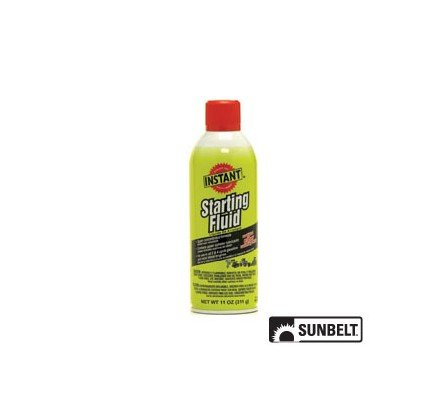 SUNBELT- Instant Starting Fluid (11 oz). PART NO: B1AC123