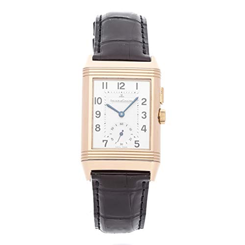 (Jaeger-LeCoultre Reverso Mechanical (Hand-Winding) Black Dial Mens Watch Q2712410 (Certified Pre-Owned))
