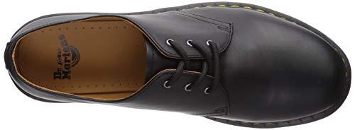 1461 Para Dr De Martens Smooth Cordones Zapatos Negro Cuero Hombre ZH54fnOq