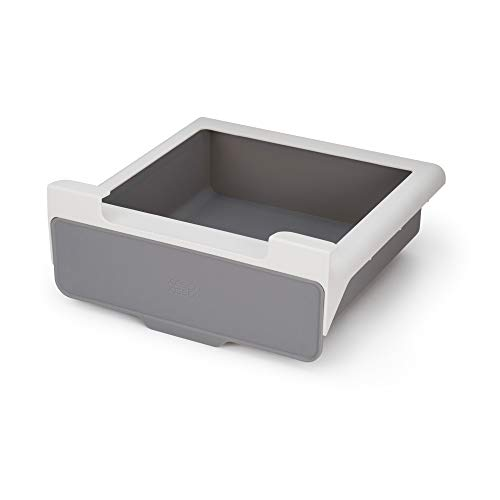 Joseph Joseph 85148 CupboardStore Under-Shelf Pull Out Drawer Storage Organizer for Cabinet, Gray