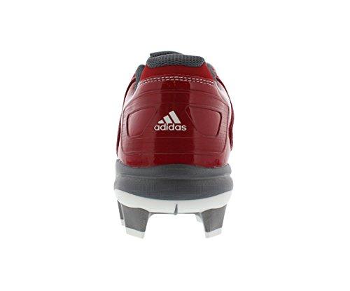 adidas Performance Mujer PowerAlley 2TPU W Softball Cornamusa Red-Carbon Met-Onix